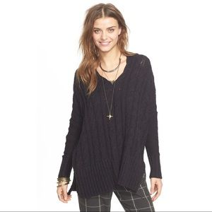 Free People V-Neck Pullover